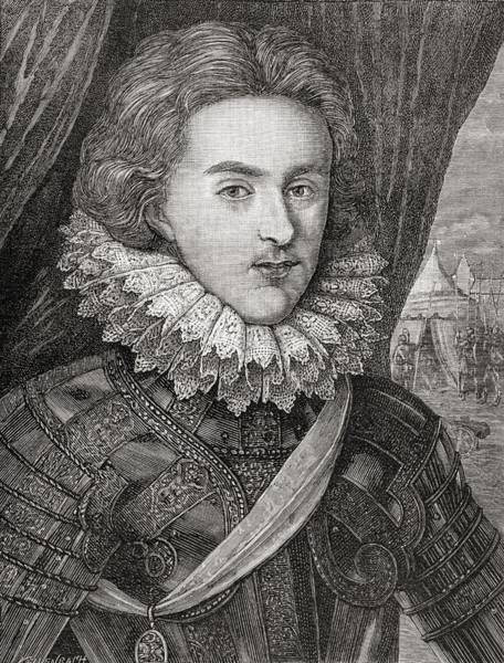Wales Drawing - Henry Frederick, Prince Of Wales, 1594 by Vintage Design Pics