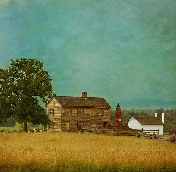 Henry House At Manassas Battlefield Park Art Print