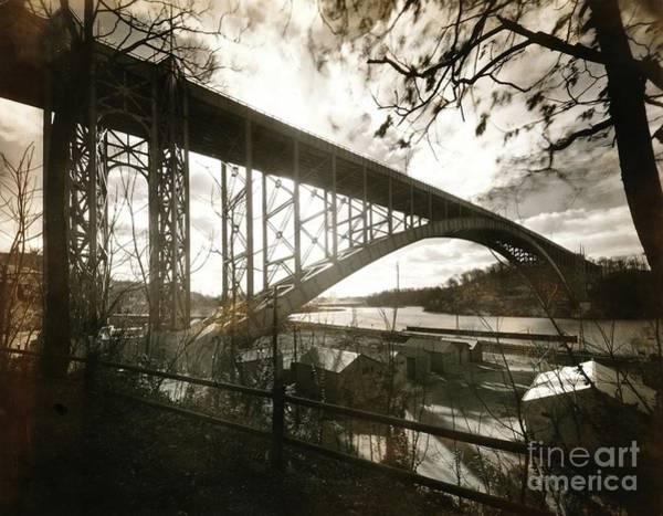 Photograph - Henry Hudson Bridge, 1936 by Cole Thompson