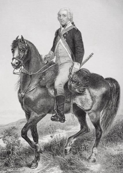Alonzo Drawing - Henry Lee 1756 - 1818. Cavalry Officer by Vintage Design Pics