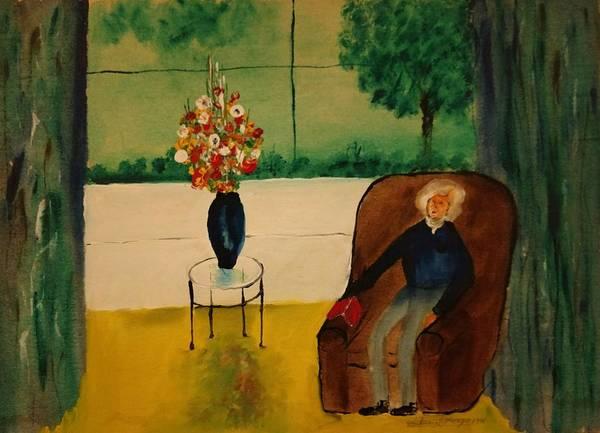 Painting - Henry Thoreau by Edward Longo