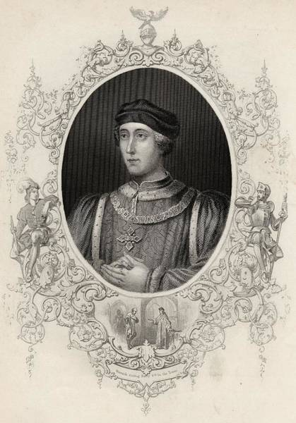 Wall Art - Drawing - Henry Vi 1421-1471. King Of England by Vintage Design Pics