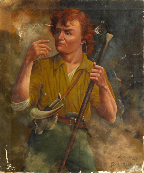 Wax Painting - Henry Wax Karnes by Henry Arthur McArdle