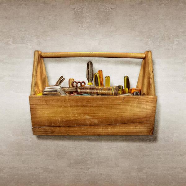 Maintenance Photograph - Henry's Toolbox by YoPedro