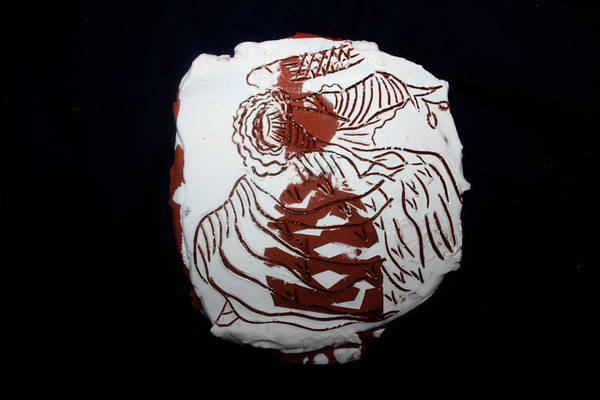 Ceramic Art - Her 1 by Gloria Ssali