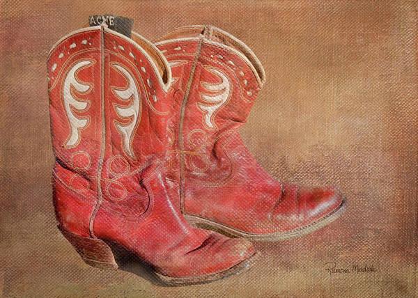 Photograph - Her Boots by Ramona Murdock