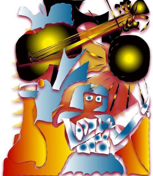 Subjective Digital Art - Dream Of Fame by Doobie Dayglow