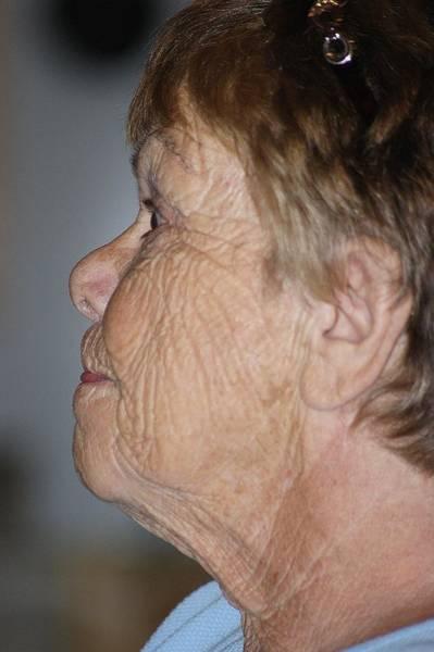 Wall Art - Photograph - Her Grandmothers Face by Dahlia Tumavicus
