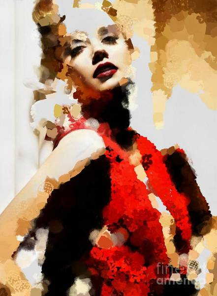 Painting - Her Hotty Totty by Catherine Lott
