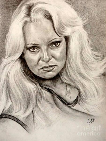 Drawing - Her Mood by Georgia's Art Brush