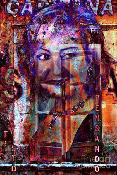 Digital Art - Her Sound Breaks Walls  by Silva Wischeropp