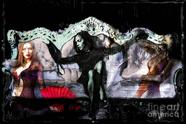 Digital Art - Her World by John Rizzuto
