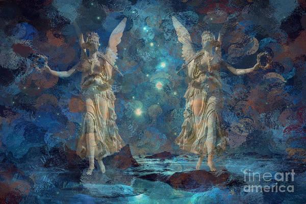 Digital Art - Herald The Night 2015 by Kathryn Strick