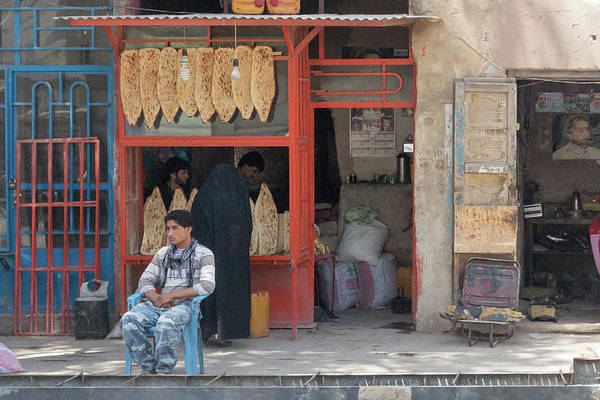 Photograph - Herat Bakery by SR Green