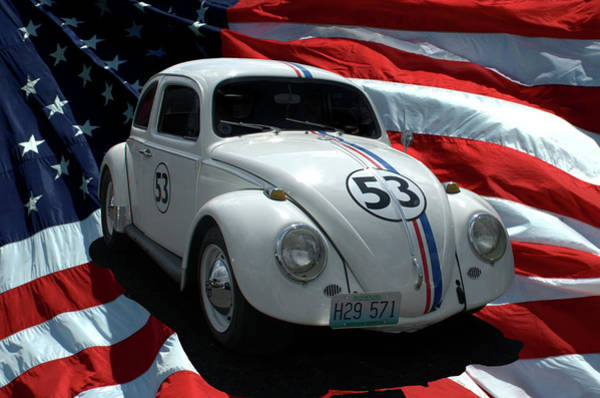Photograph - Herbie Replica Vw by Tim McCullough