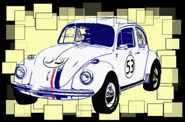 Photograph - Herbie The Love Bug by Bill Cannon