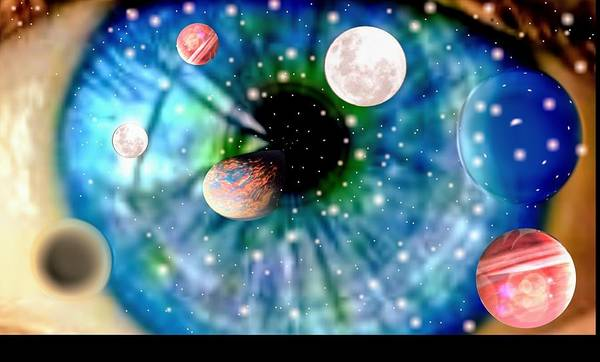 Pele Digital Art - Hercolubus Nibiru Planet X 9 by Marlon Stefani