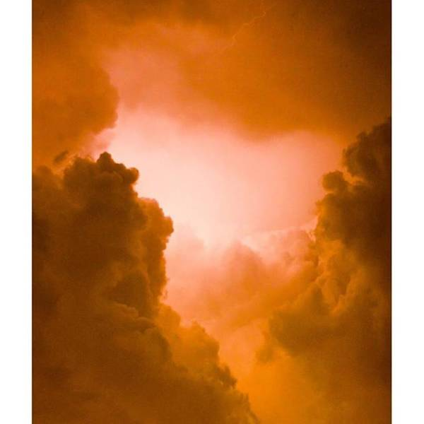 God Wall Art - Photograph - Here Are Some #clouds With #lightening by Alex Snay