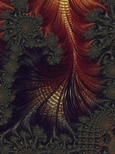 Wall Art - Digital Art - Here Be Dragons by Amanda Moore