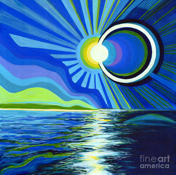 Painting - Here Come The Sun by Tanya Filichkin