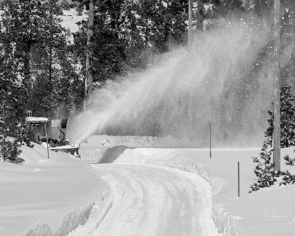 Photograph - Here Comes That Snowblower Again by Jim Thompson