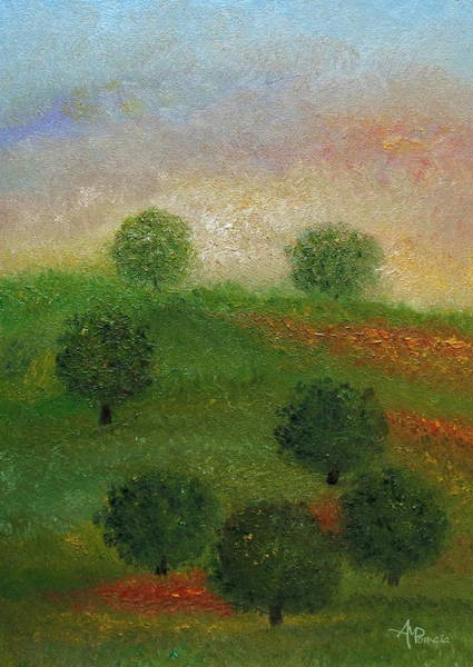 Painting - Here Comes The Sun by Angeles M Pomata