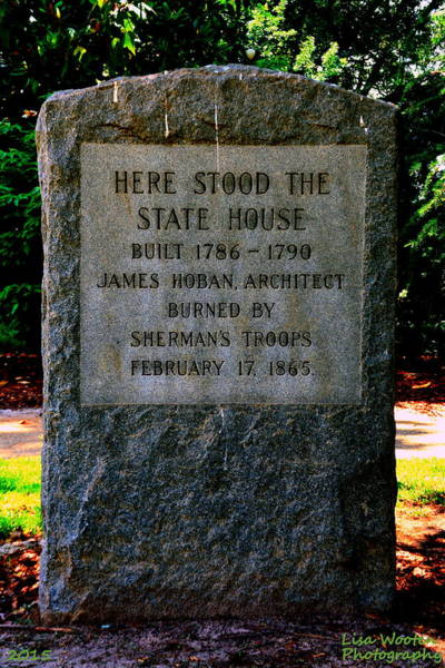 Photograph - Here Stood The State House by Lisa Wooten