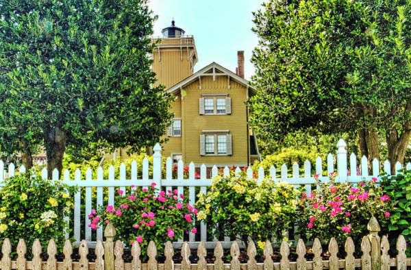 Wall Art - Photograph - Hereford Inlet Lighthouse And Botanical Garden by Geraldine Scull