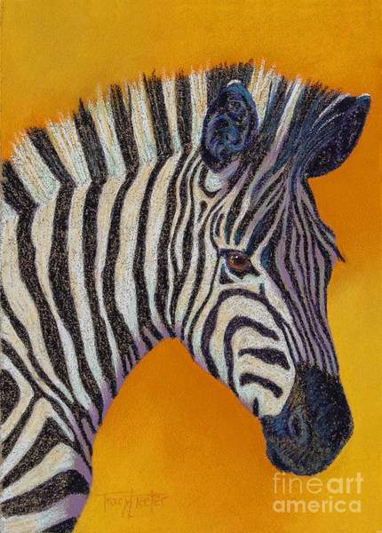 Wall Art - Pastel - Here's Lookin At You by Tracy L Teeter