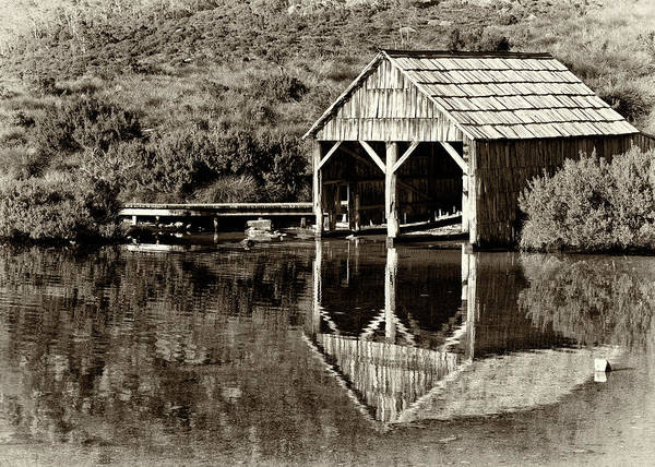 Photograph - Heritage Boat House by Nicholas Blackwell