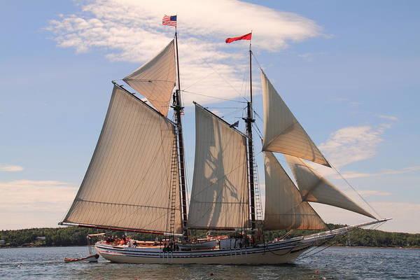 Heritage Full Sail Art Print