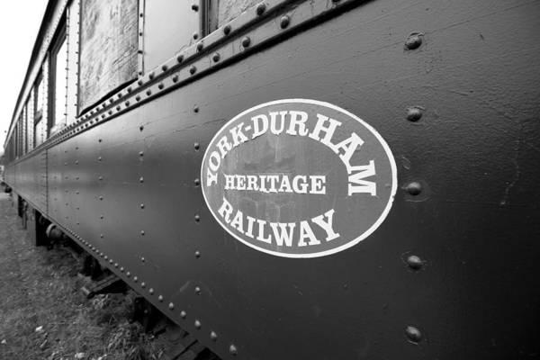 Wall Art - Photograph - Heritage Railway by Valentino Visentini