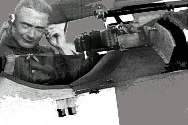 Photograph - Herman Goering In The Cockpit Of A Fokker D.vii Screen Capture Somewhere In Germany Circa 1918 by David Lee Guss