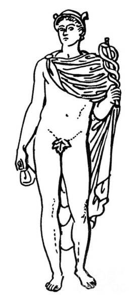 Drawing - Hermes / Mercury by Granger