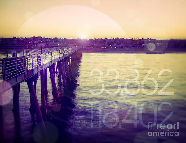Hermosa Beach California Art Print
