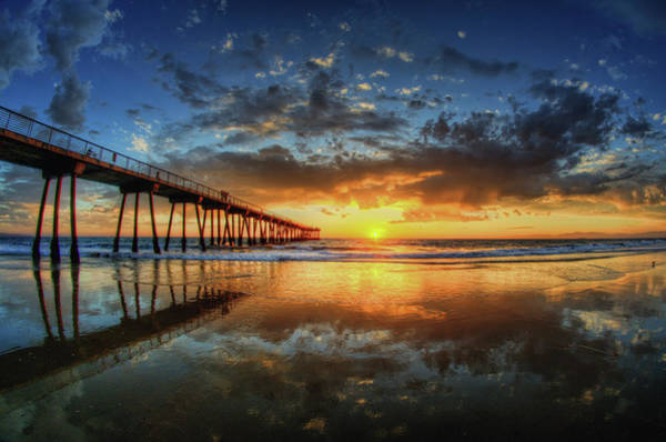 Nature Photograph - Hermosa Beach by Neil Kremer