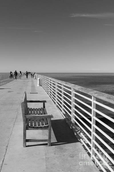 Wall Art - Photograph - Hermosa Beach Seat by Ana V Ramirez