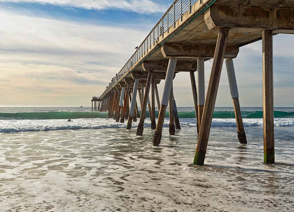Photograph - Hermosa Under The Pier by Michael Hope