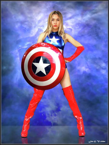 Photograph - Hero Wears A Star by Jon Volden