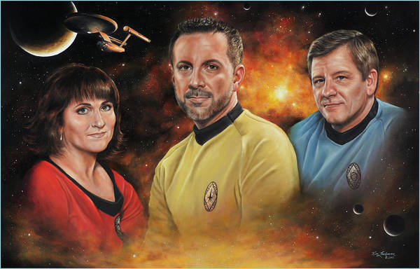 Painting - Heroes Of The Farragut by Kim Lockman