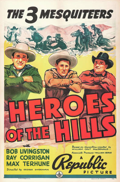 Wall Art - Mixed Media - Heroes Of The Hills 1938 by Mountain Dreams