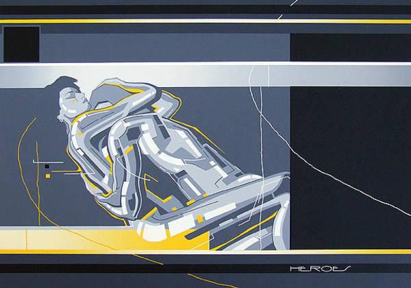 Painting - Heroes Screen Print by David Hargreaves