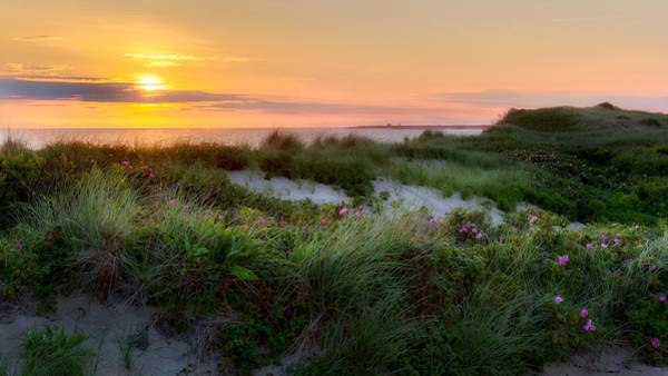 Cape Cod Sunset Photograph - Herring Cove Beach by Bill Wakeley