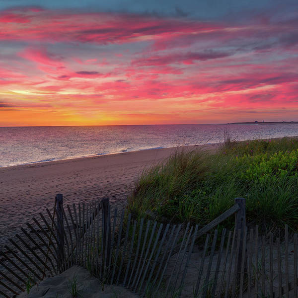 Wall Art - Photograph - Herring Cove Beach Sunset Square by Bill Wakeley
