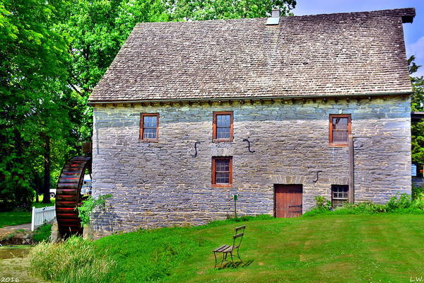 Photograph - Herr's Mill by Lisa Wooten