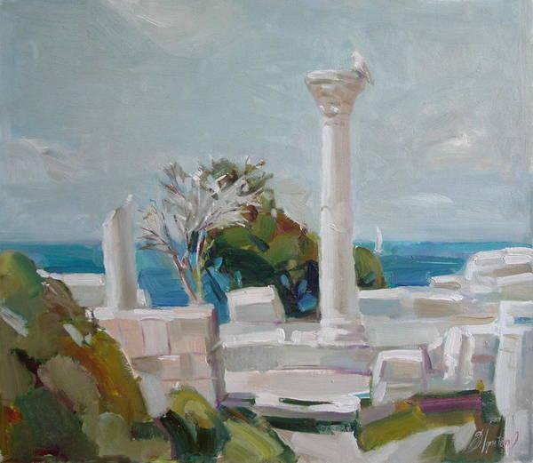 Ignatenko Painting - Hersoness by Sergey Ignatenko