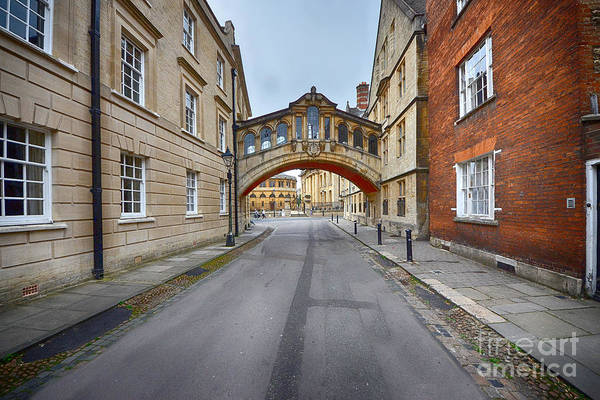 Colleges Photograph - Hertford Bridge by Smart Aviation