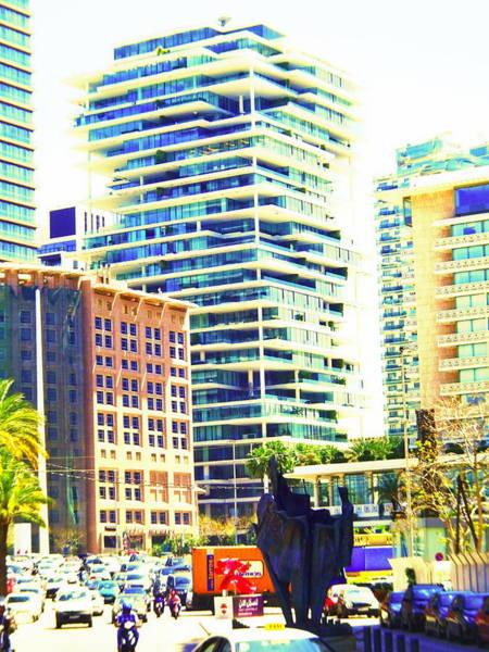 Arte Photograph - Herzog Beirut Terraces by Funkpix Photo Hunter