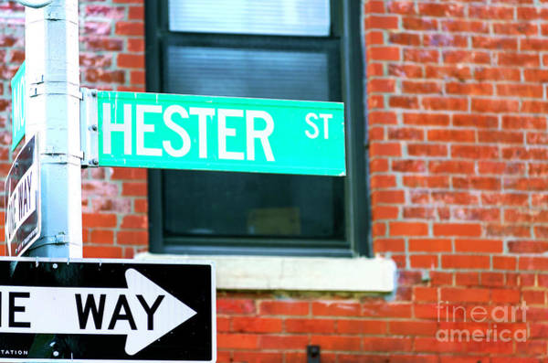 Photograph - Hester Street New York City by John Rizzuto