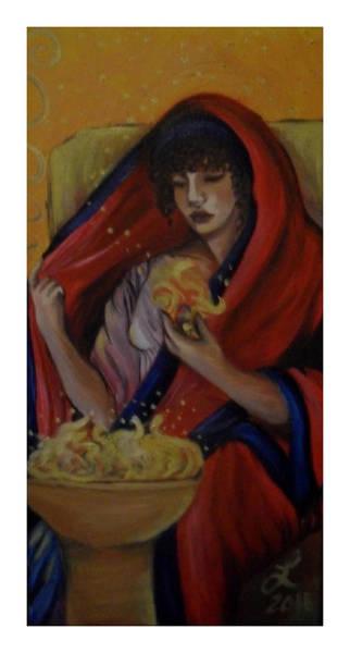 Samantha Painting - Hestia by Samantha Sanders